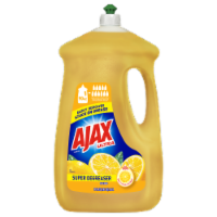 Ajax Ultra Super Degreaser Lemon Dish Liquid