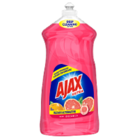 Ajax Bleach Alternative Grapefruit Dish Liquid