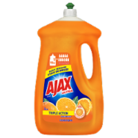 Ajax Ultra Triple Action Orange Dish Liquid