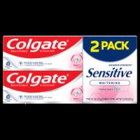 Colgate Maximum Strength Sensitive Whitening Fresh Mint Toothpaste Value Pack - 2 ct / 6 oz