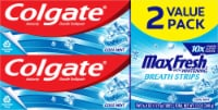 Colgate Max Fresh Cool Mint Whitening Toothpaste Value Twin Pack