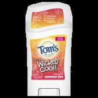 Tom's of Maine Summer Fun Wicked Cool Kids Stick Deodorant