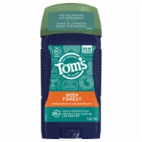 Tom's of Maine Deep Forest Long Lasting Men's Wide Stick Deodorant