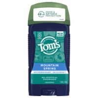 Tom's of Maine for Men Mountain Spring Antiperspirant Deodorant
