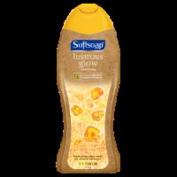Softsoap Lustrous Glow Amber & Honey Exfoliating Body Wash