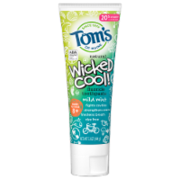 Tom's Wicked Cool! Gluten Free Mild Mint Fluoride Toothpaste