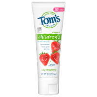 Tom's of Maine Silly Strawberry Children's AnticavityToothpaste