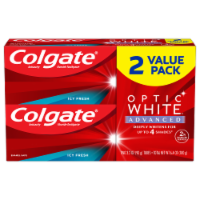 Colgate Optic White Advanced Icy Fresh Toothpaste Value Pack