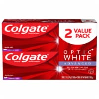 Colgate Optic White Vibrant Clean Toothpaste 2 Pack