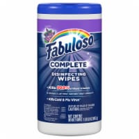 Fabuloso Lavender Complete Disinfecting Wipes