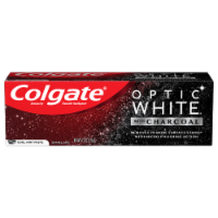 Colgate Optic White Charcoal Cool Mint Toothpaste