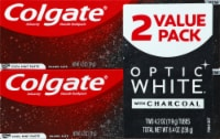 Colgate Optic White Charcoal Teeth Whitening Toothpaste