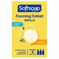 Softsoap Foaming Tablets Lemon Fizz Hand Wash - 3 ct