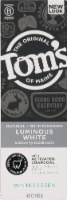 Tom's of Maine Luminous White with Charcoal Natural Toothpaste - 4 oz