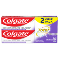 Colgate Total Whole Mouth Health Gum Protection Toothpaste - 2 ct / 4.8 oz