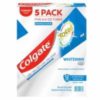Colgate Total Whitening Toothpaste, 6 Ounce (Pack of 5) - 1 unit