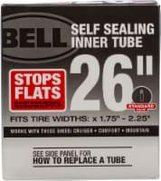 Bell® Self Sealing Standard Valve Bicycle Tube - 26 in