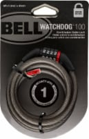 Bell Watchdog 100 Cable Lock - Black - 5 ft x 8 mm