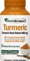 Garden Botanicals Turmeric Vegicaps