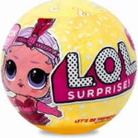 L.O.L. Surprise! Series 3 Wave 1 Big Sister Red Dress LOL Doll Exclusive Limited MGA - 1 unit