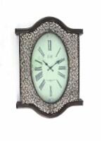 Vintage Bronze Wall Clock - 1