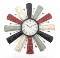Vintage Decorative Metal Wall Clock - 1