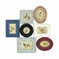 Vintage Wooden Photo Frame Wall Decor - 1
