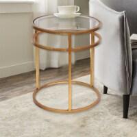 TETON HOME MINIMALIST GOLD COFFEE TABLE - AF-118 - 1