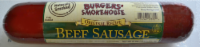 Burger's Smokehouse Beef Sausage Log
