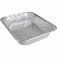 Mayline GJO10702 0.5 Cap Disposable Aluminum Steam Table Pan - Silver - 1