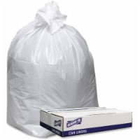 Mars Drinks GJO3858W 38 x 58 in. Extra Heavy-Duty White Trash Can Liners - 9 mil, 100 Count