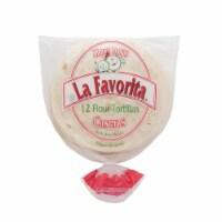 La Favorita Caseras Tortillas - 12 ct / 18 oz