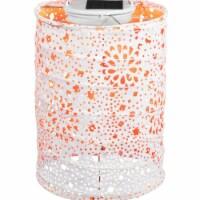 Allsop Home & Garden 31023 Soji Stella Lantern, Neon Orange