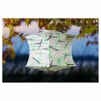 Allsop Home & Garden 31409 Soji Printed Lantern, Geo Star