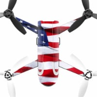 MightySkins PABEBOP2-American Flag Skin Decal Wrap for Parrot Bebop 2 Quadcopter Drone - Amer - 1