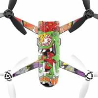 MightySkins PABEBOP2-Dragon Rocker Skin Decal Wrap for Parrot Bebop 2 Quadcopter Drone - Drag - 1