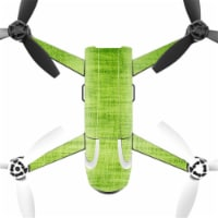 MightySkins PABEBOP2-Green Fabric Skin Decal Wrap for Parrot Bebop 2 Quadcopter Drone - Green - 1
