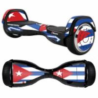 MightySkins RAHOV2-Cuban Flag Skin Decal Wrap for Razor Hovertrax 2.0 Hover Board Balancing S