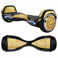 MightySkins RAHOV2-Gold Tiles Skin Decal Wrap for Razor Hovertrax 2.0 Hover Board Balancing S