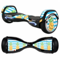 MightySkins RAHOV2-Beach Towel Skin Decal Wrap for Razor Hovertrax 2.0 Hover Board Scooter -