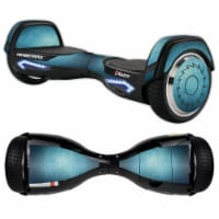MightySkins RAHOV2-Blue Swirls Skin Decal Wrap for Razor Hovertrax 2.0 Hover Board Scooter -