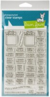 Lawn Fawn Clear Stamps 4 X6 -Love Poems - 1