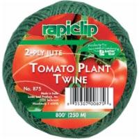 Rapiclip 800 Ft. Green Jute Plant Tie Tomato Twine 875 - 1