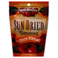Bella Sun Luci Julienne Cut Sun Dried Tomatoes with Zesty Peppers