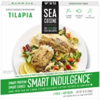 Sea Cuisine Smart Indulgence Citrus Cracked Peppercorn Tilapia Frozen Meal - 10 oz