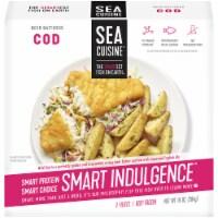 Sea Cuisine Smart Indulgence Beer Battered Wild Cod - 10 oz