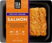 Sea Cuisine Pan Sear Teriyaki Sesame Wild Alaska Salmon