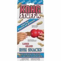 Kong Stuff'N Medium & Large Dog Peanut Butter Flavor Crunchy Dog Treat, 11 Oz. Pack of 12 - 12