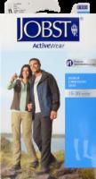 Jobst Active Wear Large White Medical Compression Socks