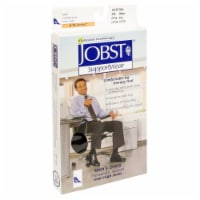 Jobst SupportWear Men's Knee-High Therapeutic Support Dress Socks - Black